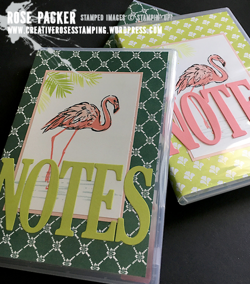 Rose Packer, Creative Roses, Stampin' Up!, Fabulous Flamingo