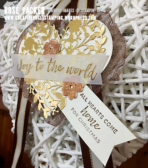 Rose Packer, Creative Roses, Stampin' Up!, Hearts Come Home, Bloomin' Heart