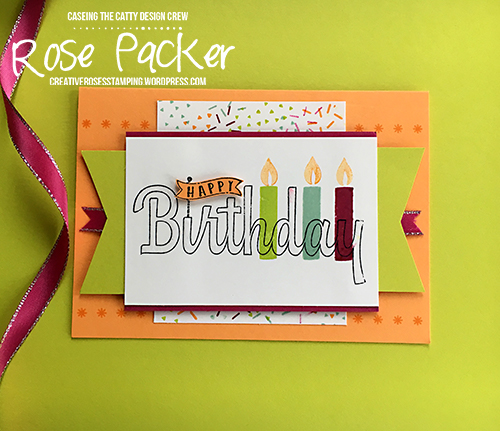 Rose Packer, Creative Roses, Stampin' Up! Picture Perfect Birthday, Birthday Wishes for you