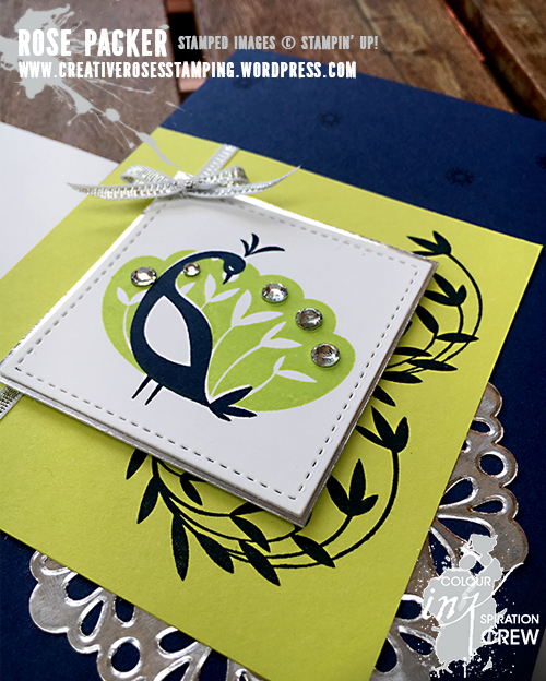 Rose Packer, Creative Roses, Stampin' Up! Beautiful Peacock, Sale-a-bration
