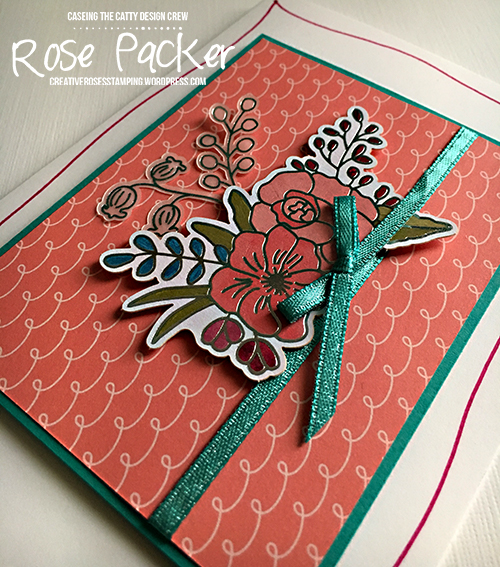 Rose Packer, Creative Roses, Stampin' Up!, Sweet Soiree, Memories and More, Sale-a-bration