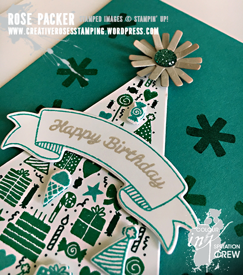 Rose Packer, Creative Roses, Stampin' Up!, Party Hat Birthday