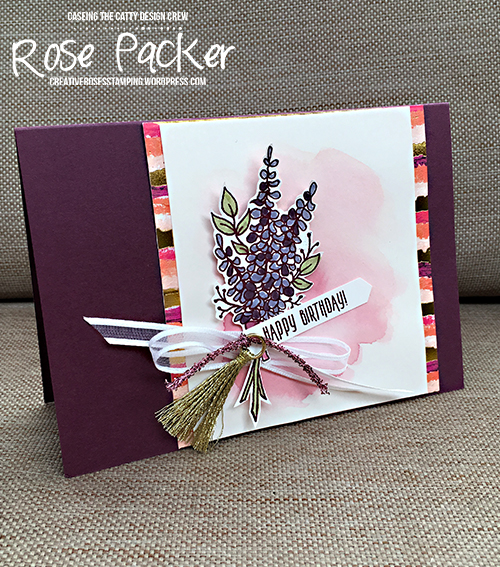 Rose Packer, Creative Roses, Stampin' Up! Lots of Lavender