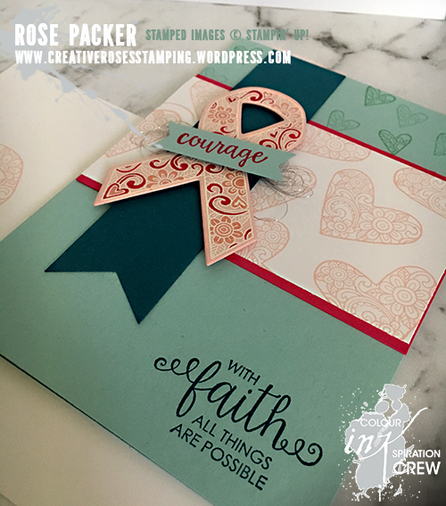 Rose Packer, Creative Roses, Stampin' Up!, Ribbon of Courage