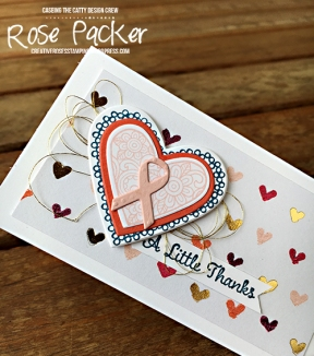 Rose Packer, Creative Roses, Stampin' Up!, Painted with Love
