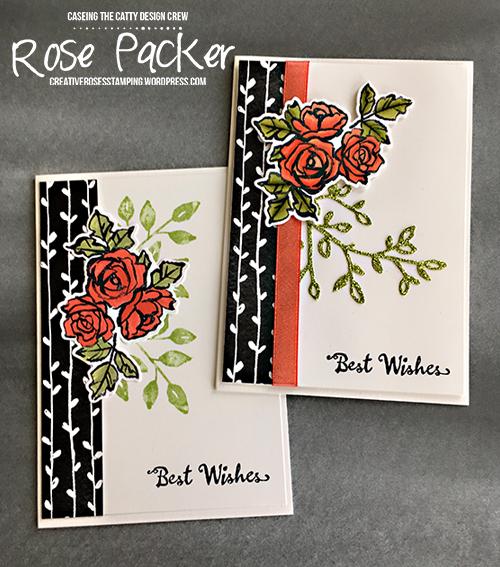Rose Packer, Creative Roses, Stampin' Up, Petal Passion