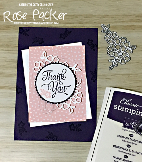 Rose Packer, Creative Roses, Stampin' Up!, One Big Meaning, Memories & More