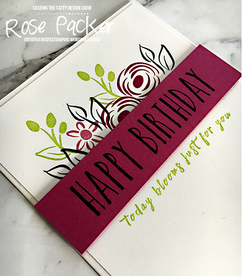 Rose Packer, Creative Roses, Stampin' Up! Perennial Birthday