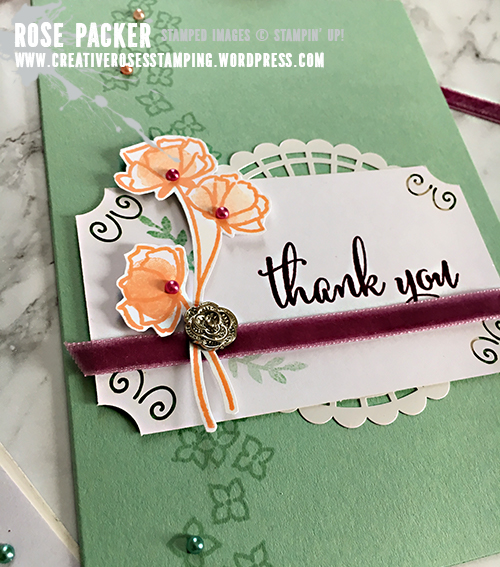 Rose Packer, Creative Roses, Stampin' Up!, Share What You Love Suite, Love What You Do