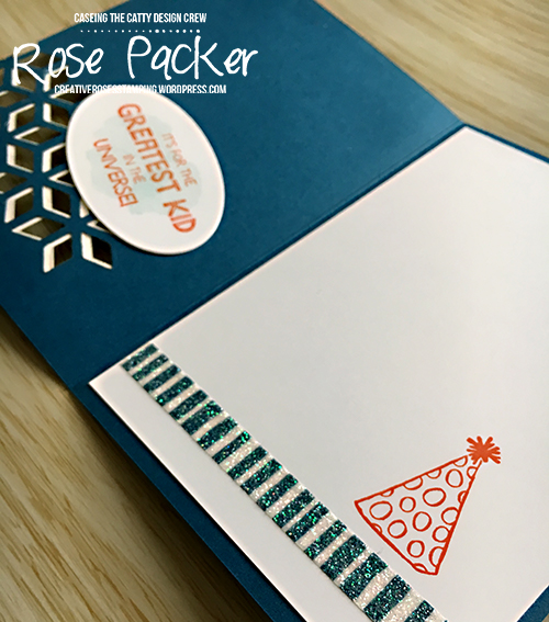 Rose Packer, Creative Roses, Stampin' Up!, Five for all, Watercolouring, Eclectic Layers thinlits