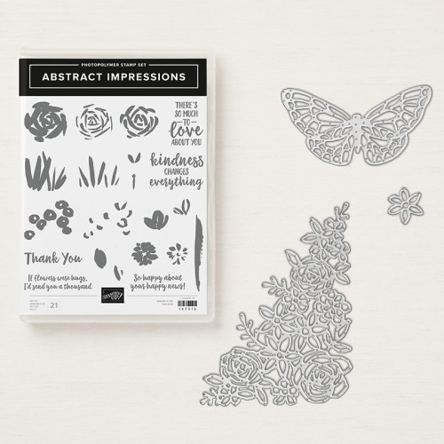Rose Packer, Creative Roses, Stampin' Up!, Garden Impressions Suite, Abstract Impressions bundle