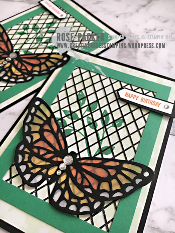 Rose Packer, Creative Roses, Stampin' Up!, Springtime Impressions thinlits, Delightfully Detailed laser-cut DSP