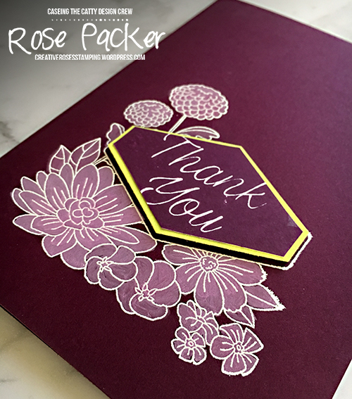 Rose Packer, Creative Roses, Stampin' Up! Accented Blooms,