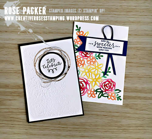 Rose Packer, Creative Roses, Stampin' Up!, Springtime Impressions thinlits