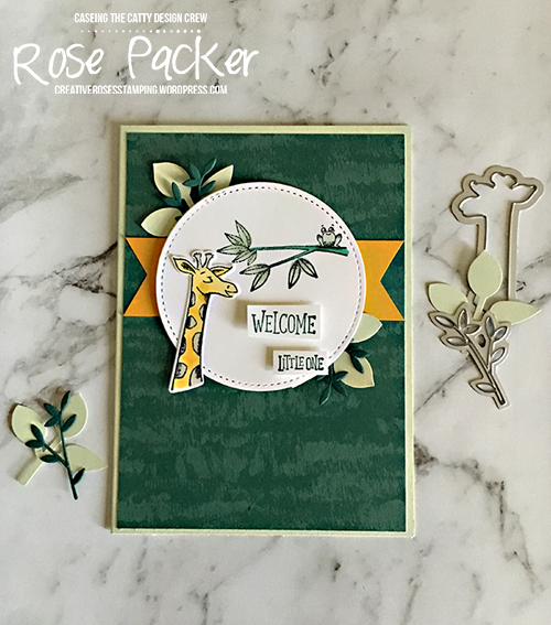 Rose Packer, Creative Roses, Stampin' Up!, Animal Outing, Stampin' Blends