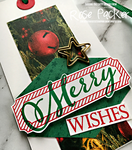Rose Packer, Creative Roses, Stampin' Up!, All is Bright, Merry Christmas to all, All is Bright paper clips