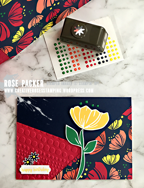 Rose Packer, Creative Roses, Stampin' Up!, #onstage2018, Happiness Blooms Suite, Bloom by Bloom