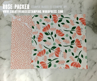 Rose Packer, Creative Roses, Stampin' Up!, Bloom by Bloom, Happiness Blooms suite