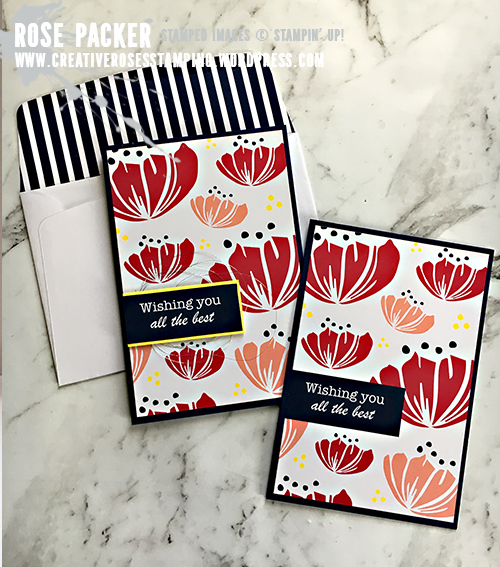 Rose Packer, Creative Roses, Stampin' Up!, Happiness Blooms Suite, Memories and More