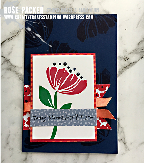 Rose Packer, Creative Roses, Stampin' Up!, Happiness Blooms Suite, Memories and More, Bloom by Bloom