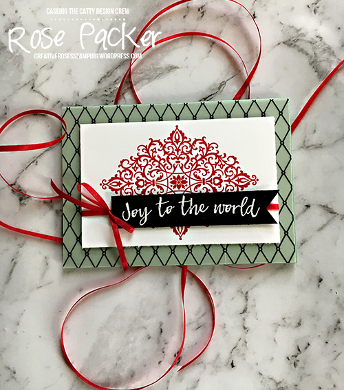 Rose Packer, Creative Roses, Stampin' Up!, Flourish Filigree, Hearts Come Home