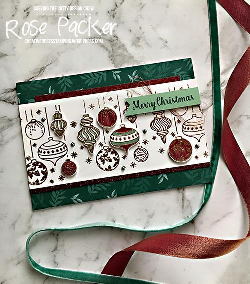 Rose Packer, Creative Roses, Stampin' Up!, Beautiful Baubles, Joyous Noel