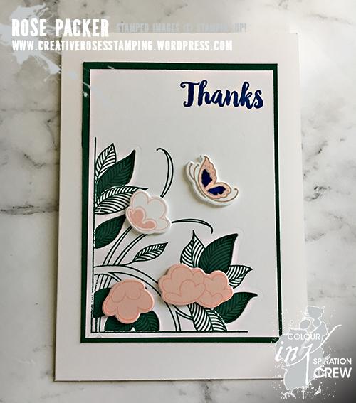 Rose Packer, Creative Roses, Stampin' Up!, Serene Garden