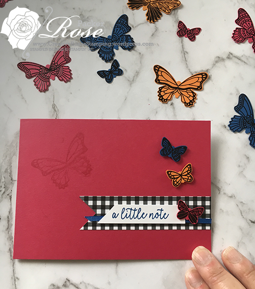 Rose Packer, Creative Roses, Stampin' Up!, Butterfly Gala stamp set, Butterfly Duet punch