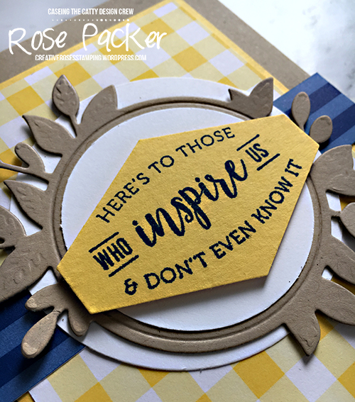 Rose Packer, Creative Roses, Stampin' Up!, Part of my story, SAB, Sale-a-bration, Gingham Gala suite