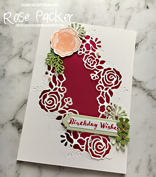Rose Packer, Creative Roses, Stampin' Up!, Forever Lovely bundle, Forever Lovely stamp set, Lovely Flowers edgelit dies