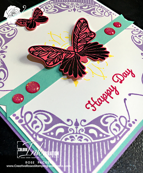 Rose Packer, Creative Roses, Stampin' Up!, Stamparatus, All Adorned, Butterfly Gala