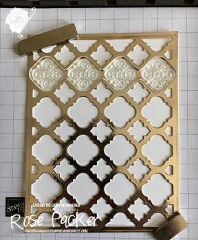 Rose Packer, Creative Roses, Stampin' Up!, Florentine Filigree, Well Said, Guy cards