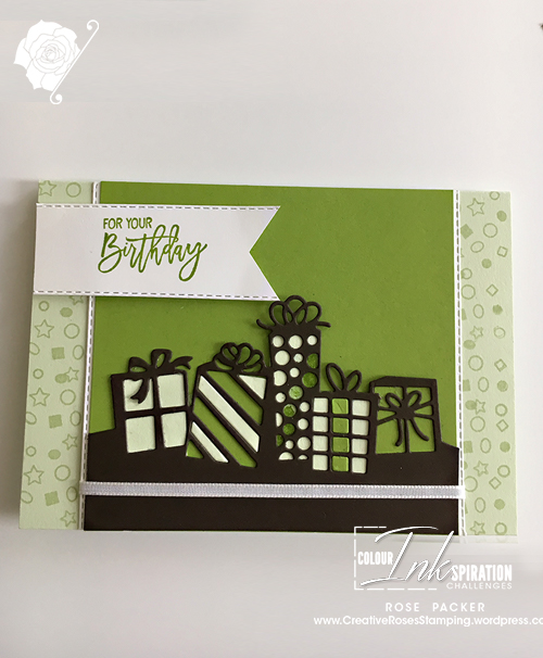 Rose Packer, Creative Roses, Stampin' Up!, Birthday Cheer,