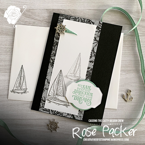 Rose Packer, Creative Roses, Stampin' Up!, Come Sail Away, Sailing Home Stamp set, Smooth Sailing dies