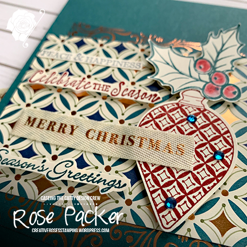 Rose Packer, Creative Roses, Stampin' Up!, Brightly Gleaming suite, Christmas Gleamining, Gleaming Ornaments