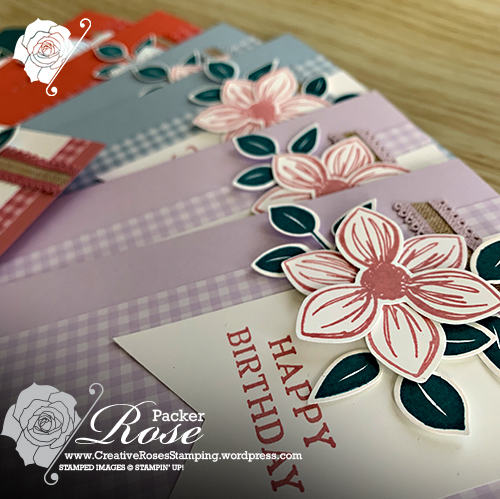 Rose Packer, Creative Roses, Stampin' Up!, Floral Essence, 2019-2021 In Colours