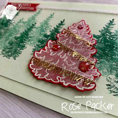 Rose Packer, Creative Roses, Stampin' Up!, Most Wonderful Time product medley
