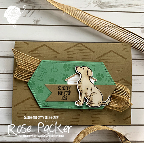 Rose Packer, Creative Roses, Stampin' Up!, Happy Tail, Dog Punch