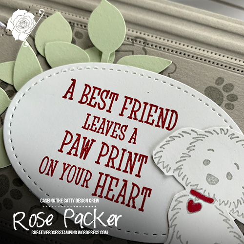 Rose Packer, Creative Roses, Stampin' Up!, Happy Tail, Bella and Friends