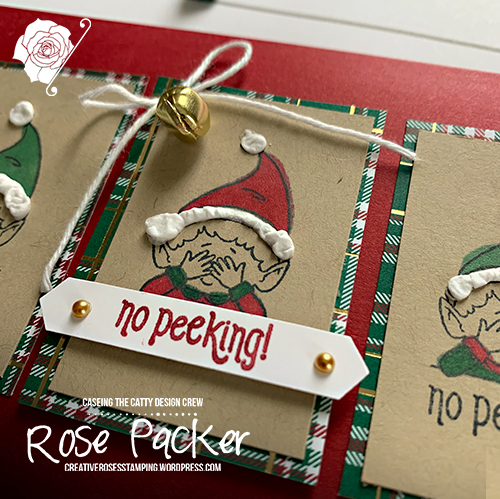 Rose Packer, Creative Roses, Stampin' Up!, Elfie, Puff Paint