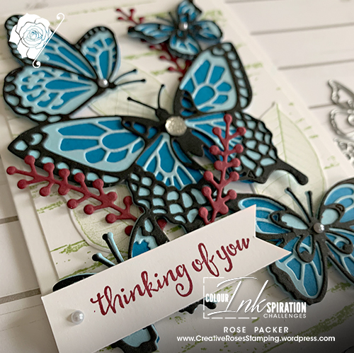 Rose Packer, Creative Roses, Stampin' Up!, Butterfly Beauty dies, Birch stamp,