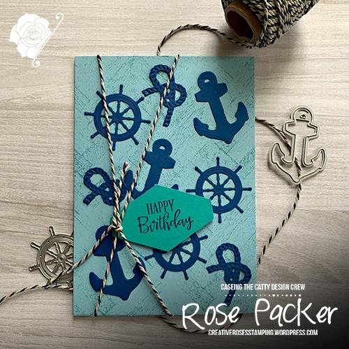 Rose Packer, Creative Roses, Stampin' Up!, Smooth Sailing dies, Sail Away suite