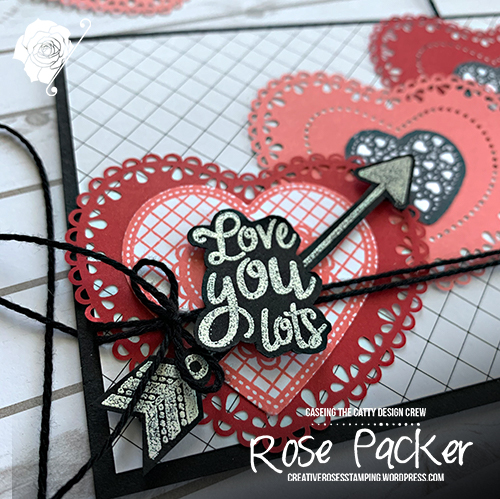 Rose Packer, Creative Roses, Stampin' Up!, From My Heart suite, Heartfelt stamp set, Heart punch pack