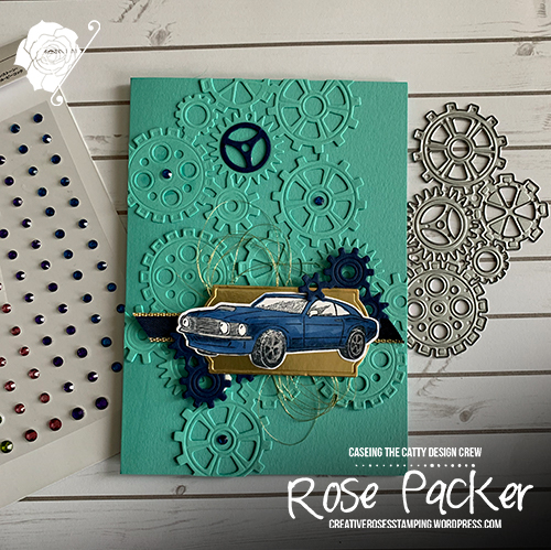 Rose Packer, Creative Roses, Stampin' Up!, Classic Garage, Garage Gears dies