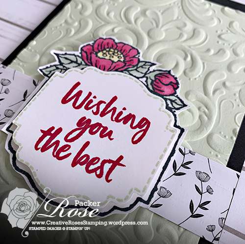 Rose Packer, Creative Roses, Stampin' Up!, Tags in Bloom, Label Me Lovely punch, Label Me Fancy Punch, Sale-a-Bration
