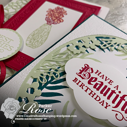 Rose Packer, Creative Roses, Stampin' Up, Online Classes, papercraft classes