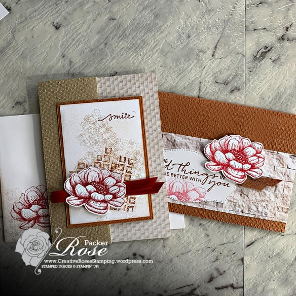 Rose Packer, Creative Roses, Stampin' Up!, In Good Taste, Tasteful Touches, Online Class