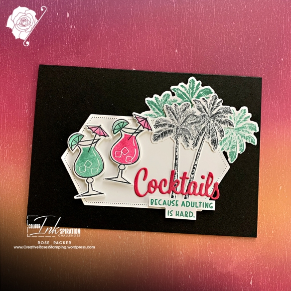 Rose Packer, Creative Roses, Stampin' Up!, Nothings Better Than bundle, Timeless Tropical