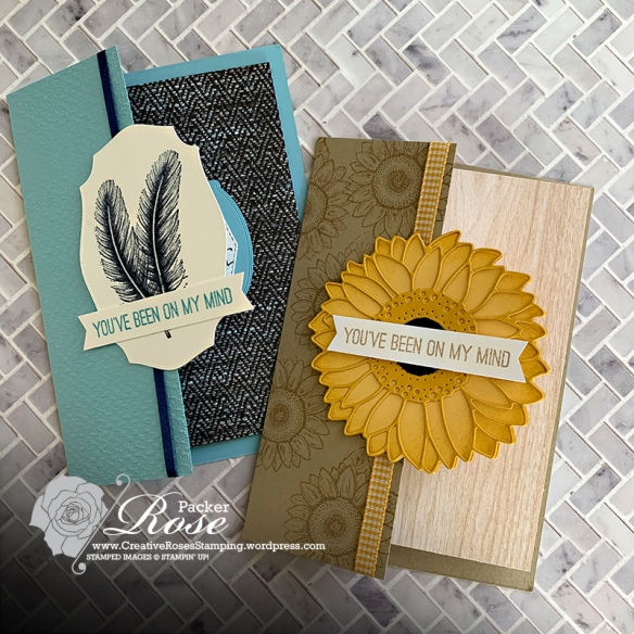 Rose Packer, Creative Roses, Stampin' Up!, Celebrate Sunflowers, Tasteful touches