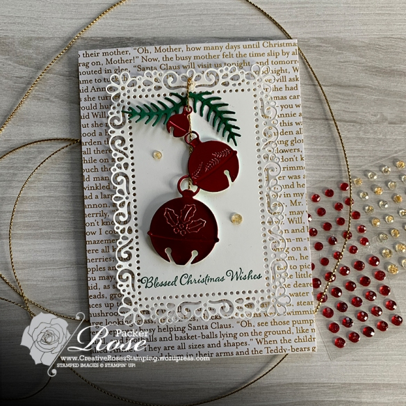 Rose Packer, Creative Roses, Stampin' Up!, Cherish the Season, Sounds of the Season